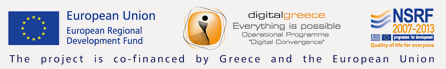 The project is co-financed by Greece and the European Union
